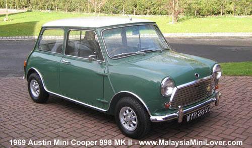 1969 Austin Mini Cooper 998 MK II